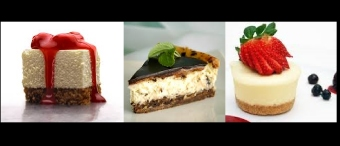 Cheesecake popurrí bajo en carbohidratos