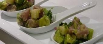 Tuna Ceviche with Avocado and Cilantro