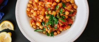 Chana Masala (Spiced Chickpeas)
