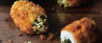 Chicken Kiev With Goat Cheese