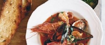 Estofado Italiano de mariscos