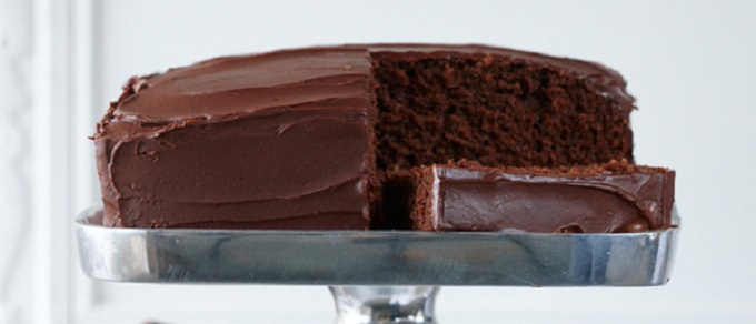 Devilishly Bittersweet Chocolate Cake - COCTIONE