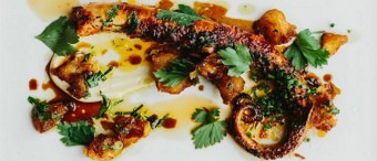 Spicy Charred Octopus