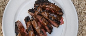 Coffee Rubbed Ribeye Steak