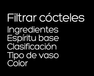 Filtrar Cocteles