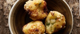 Cauliflower and Cheese Fritters