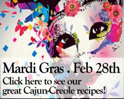Mardi Gras Cajun Cuisine 2017