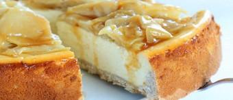 Gluten Free Apple Cinnamon Cheesecake