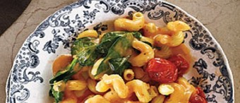 Mac and Cheese (or Cavatappi) with Tomatoes
