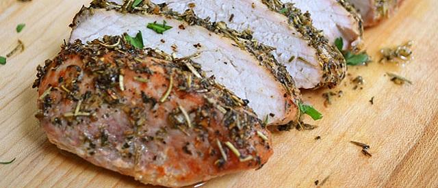 Herb Marinated Pork Tenderloin