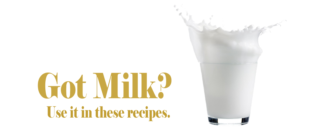 Recipes for World Milk Day