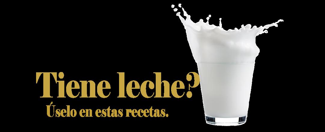 Tiene leche?