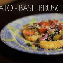 How to Make Tomato - Basil Bruschetta