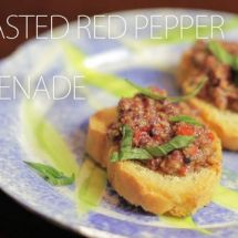 How to Make Roasted Red Pepper Tapenade